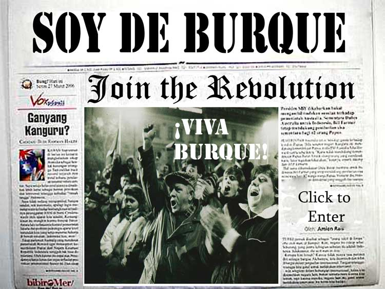 The masses revolt -  Viva Burque